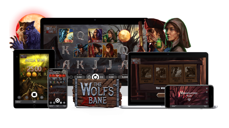 Slot game The Wolf's Bane Netent