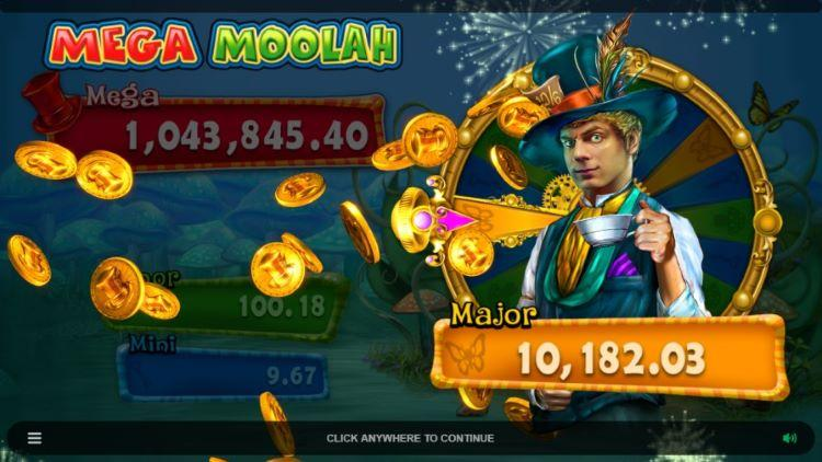Absolootly Mad: Mega Moolah big wins