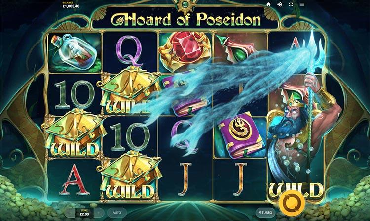 Hoard Of Poseidon video slot Red Tiger