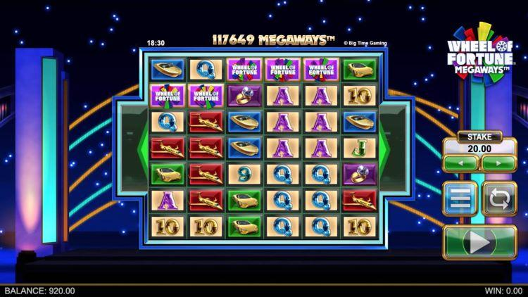 video slot Wheel of Fortune Megaways