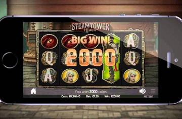 Steamtower mobile Touch spelen