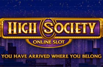 Video slot High Society Microgaming
