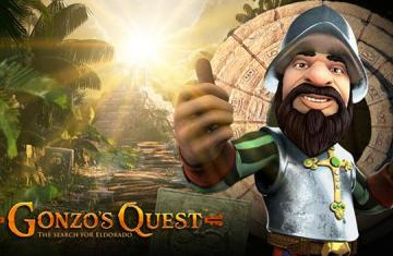 Gonzo's Quest online video slot van Netent