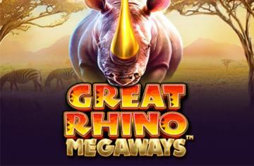 Video slot Great Rhino Megaways spelen
