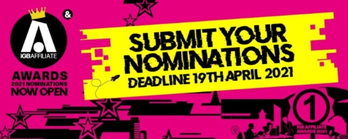 iGB Affiliate Awards 2021 Game of the Year