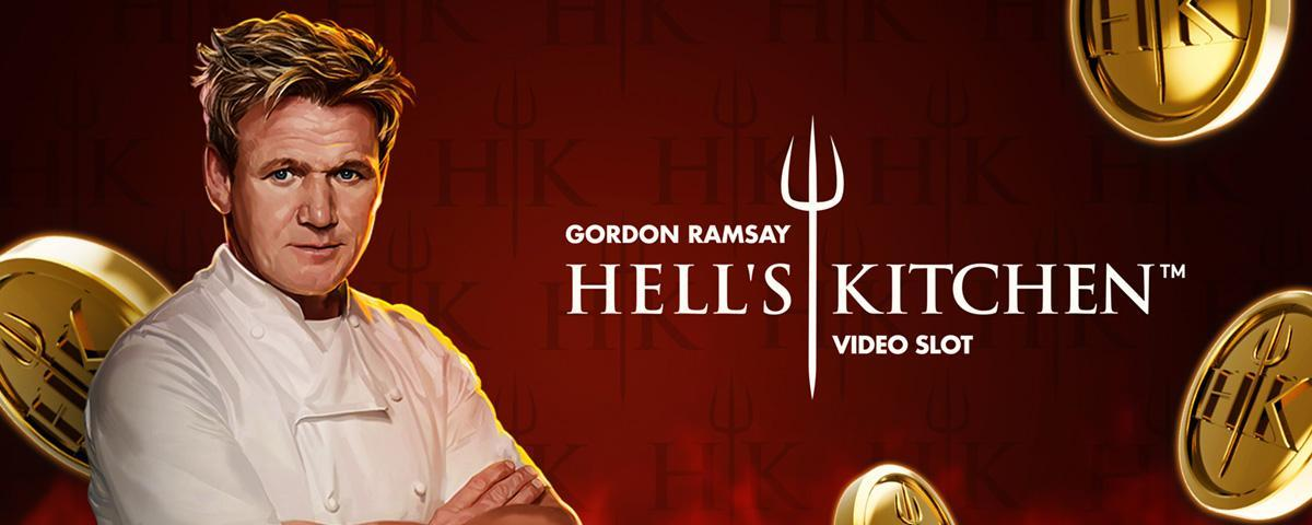 Speel nu de video slot Gordon Ramsay Hell's Kitchen